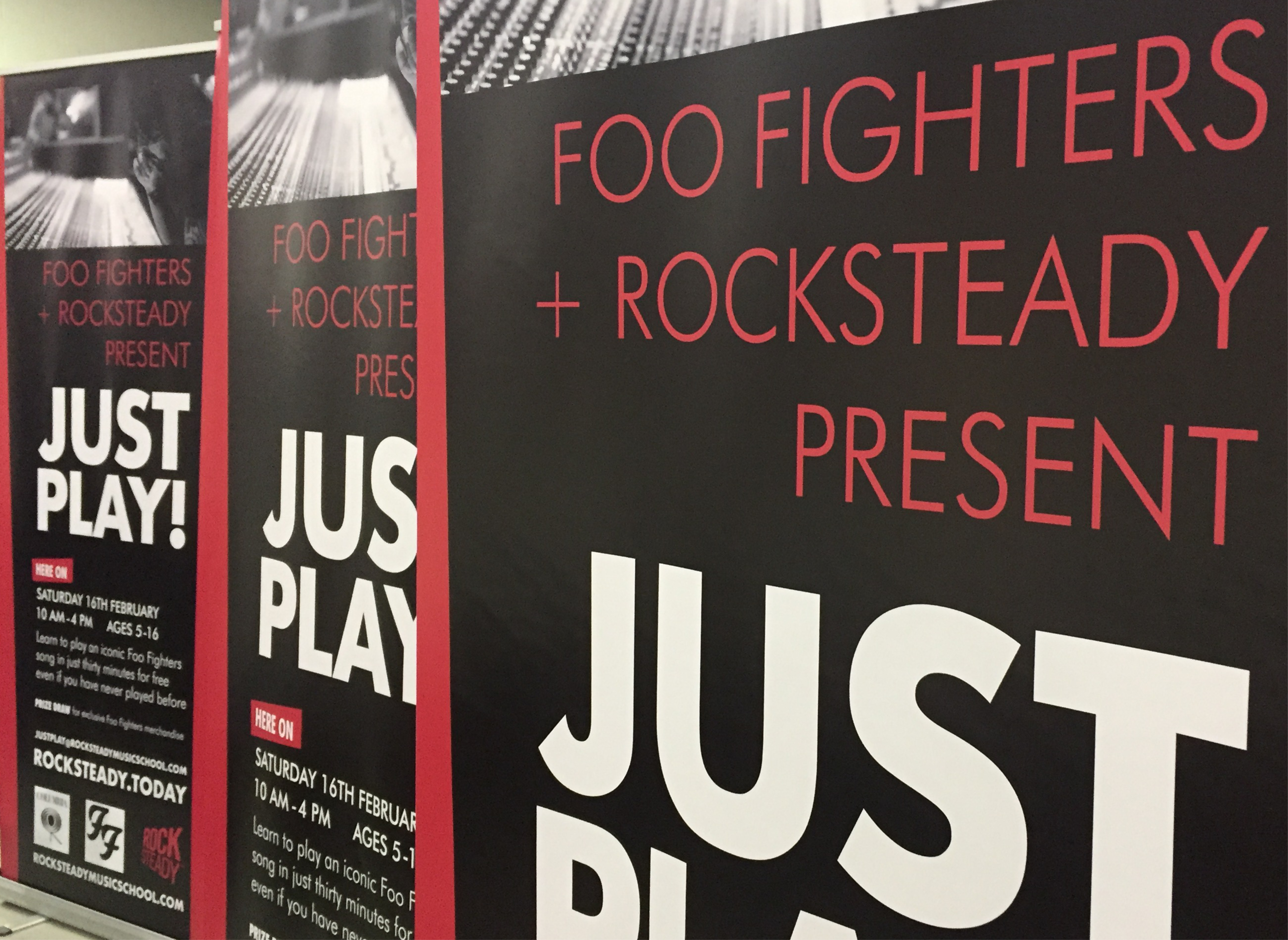 Foo Fighters Roller Banners Carrick Signs