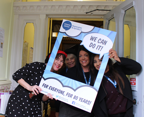 Citizens Advice Selfie Frame