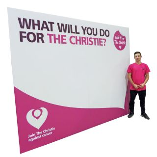 Photo Backdrop Display Stand