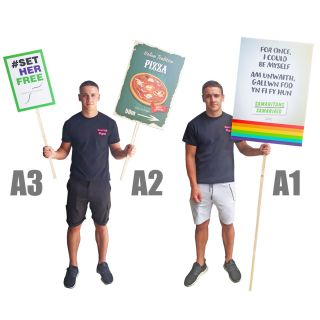 Placards at any size