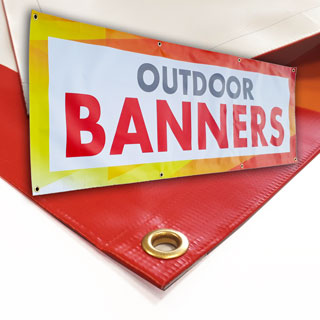 PVC Banners, Outdoor Banner Printing