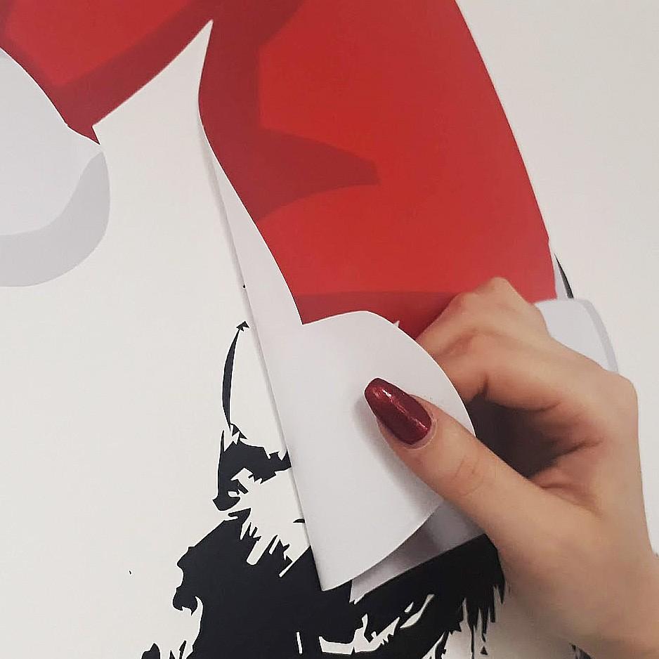 Removable Vinyl Sticker, Easy Dot Vinyl Graphics for Walls